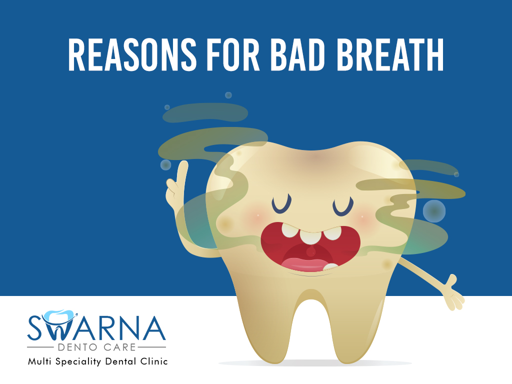 Reasons for Bad Breath - Swarna Dento Care